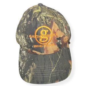Garth Brooks World Tour Camo Baseball Cap Hat